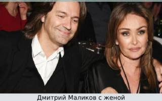 Дмитрий Маликов биография дата рождения