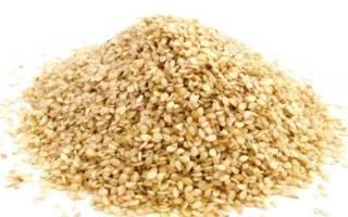 Белый кунжут полезные свойства и противопоказания, кунжутное семя как принимать