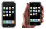 В каком году появился первый айфон, обзор iPhone 1