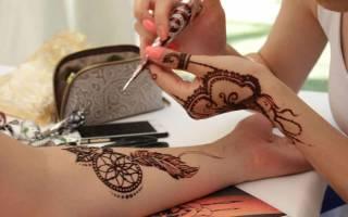 Как сделать временную татуировку в домашних условиях, как делается мехенди?