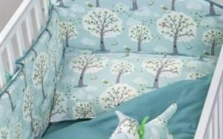 Сшить бортики в кроватку для новорожденных: фенс бамперы своими руками