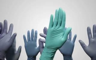 Резиновые перчатки как правильно одевать их, видео