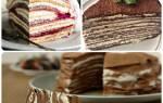 Крем для блинного торта со сметаной — рецепт тортика из блинов