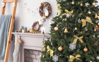 Идеи украшения елки на новый – как креативно украсить?