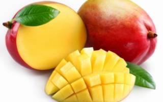 Как выбрать манго в магазине спелый?
