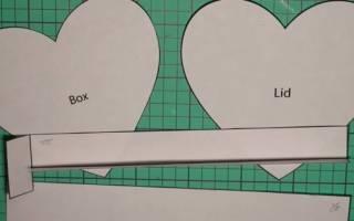 Коробки для подарков своими руками шаблоны – как оформить коробочку?