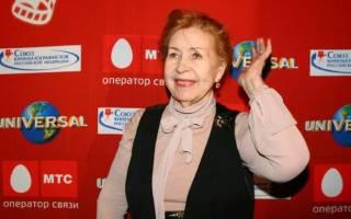 Актриса Инна Макарова биография и личная жизнь