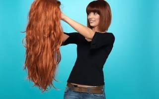 Как ухаживать за париком из искусственных волос?