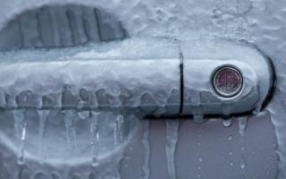 Замерзает замок двери автомобиля что делать: защита замков от замерзания
