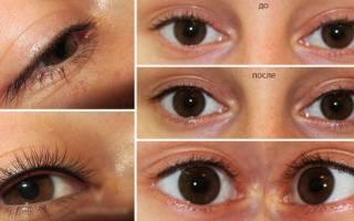 Татуаж век фото до и после, перманентный макияж глаз до и после