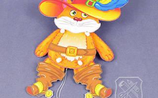 Подвижные игрушки из картона шаблоны дергунчики поэтапно – как сделать костюм марионетки