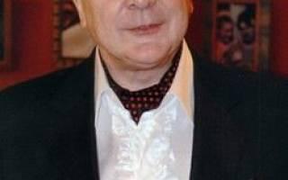 Сергей проханов биография личная жизнь — худрук театра луны