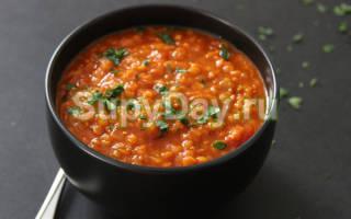 Чечевичный суп рецепт с фото пошагово: похлебка из красной чечевицы