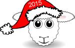 Маска овцы на голову распечатать