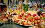 Нарезка из овощей на праздничный стол фото, как резать фрукты?