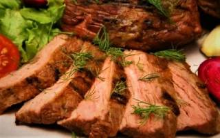 Как приготовить мягкую говядину в духовке — мякоть бедра