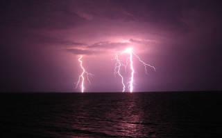 К чему снятся молнии в небе?