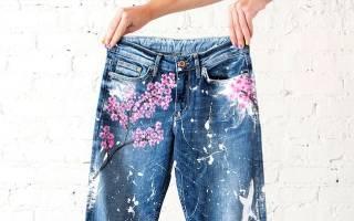 Как украсить джинсы своими руками, джинсовые аппликации