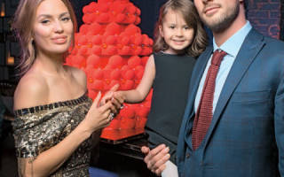 Виктория Боня с мужем и дочкой фото
