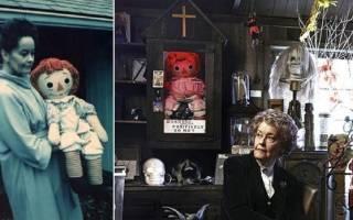 Кто такая кукла анабель, аннабель хиггинс