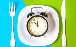 Голодание полезно или вредно — питание 16 8