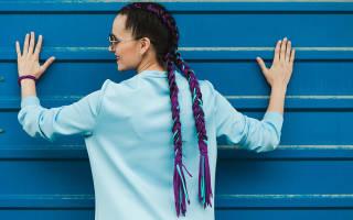 Как вплетать нитки в косички – заплетенные косы