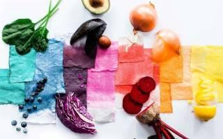 Как сделать белую краску в домашних условиях – краситель из моркови