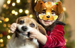 Маска собаки на голову из бумаги – ушки собачки шаблон