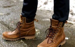Как носить зимние ботинки с джинсами – какую обувь одеть