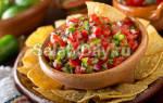 Мексиканский салат рецепт с болгарским перцем
