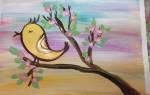 Весна рисунок карандашом, как нарисовать март?
