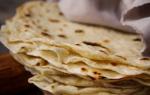 Сколько калорий в лаваше армянском тонком бездрожжевом?