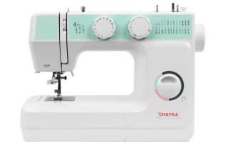 Швейная машинка чайка фото