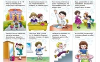 Правила поведения в обществе для детей – занятия по этикету