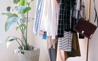 Сделать вешалку для одежды своими руками