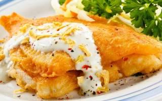 Рыба в кляре как приготовить пошаговый рецепт
