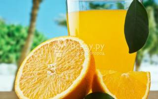Апельсиновый лимонад в домашних условиях: замороженный апельсин