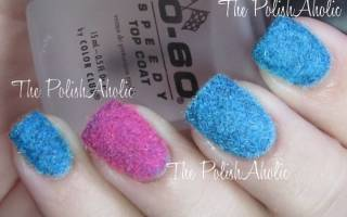 Пушистые ногти: маникюр с мехом