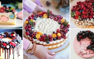 Идеи украшения торта в домашних условиях, как украсить тортик своими руками?