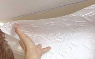 Как правильно клеить обои на потолок – поклейка потолочных обоев