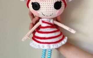 Вязанные куклы лалалупси крючком схемы и описание