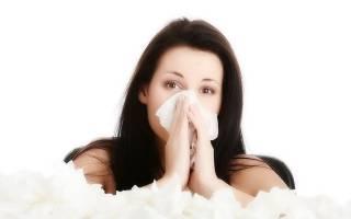 Из носа течет вода при наклоне головы, желтая жидкость