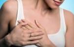Причины набухания молочных желез после месячных: почему начинает болеть грудь в середине цикла?