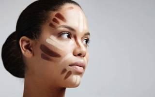 Контур лица макияж картинки по этапам: как правильно скульптурировать нос